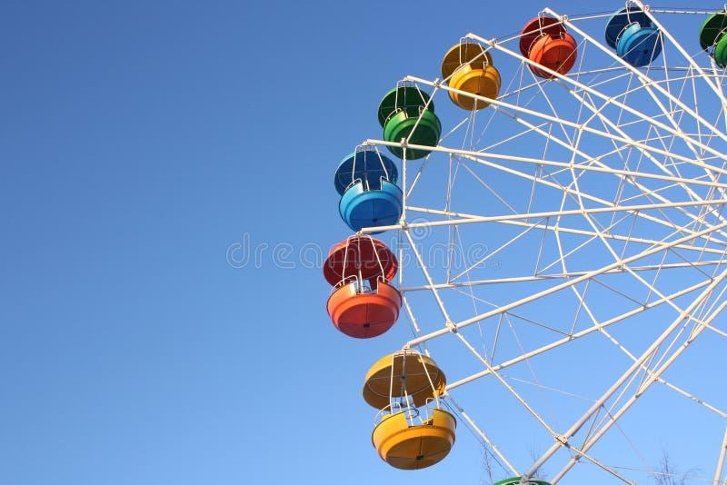 stort hjul royaltyfri bild
