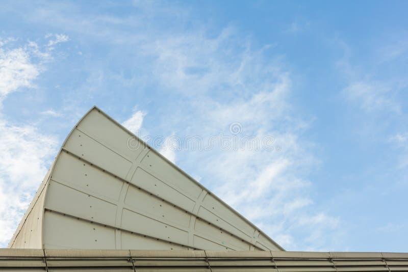 Stort luftvillkor på taket fotografering för bildbyråer