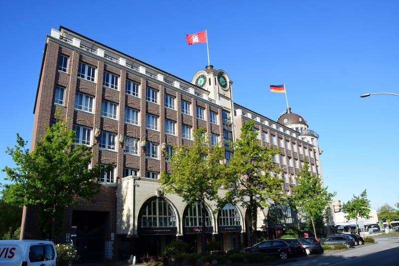 """Stortebecker Hotel van Haus †het """"in Hamburg, Duitsland royalty-vrije stock foto"""