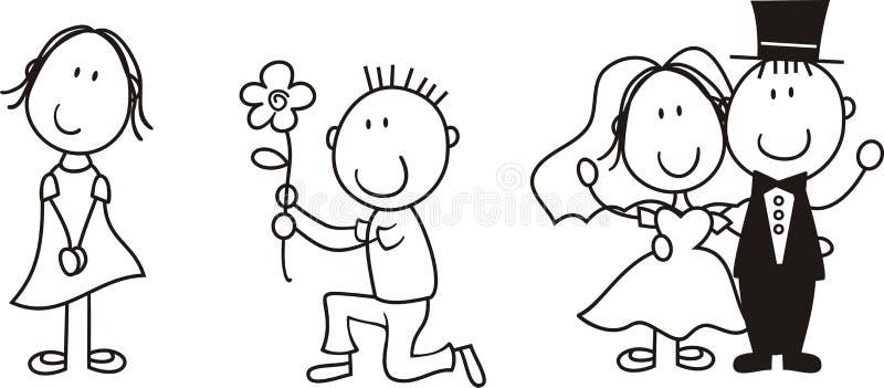 Download Story board love stock vector. Illustration of cute, board - 12648379