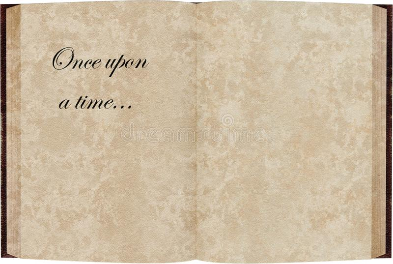 Story Book Blank Template Isolated Stock Image - Image of ...