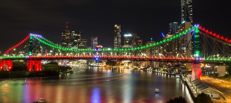 Story Bridge in Brisbane. The iconic Story Bridge in Brisbane, Queensland, Australia royalty free stock images
