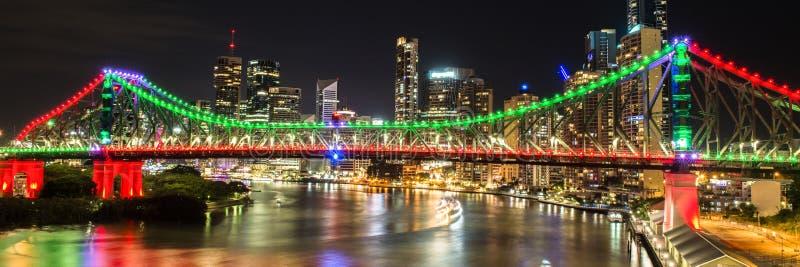 Story Bridge in Brisbane. The iconic Story Bridge in Brisbane, Queensland, Australia stock photography