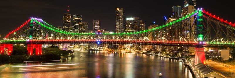 Story Bridge in Brisbane. The iconic Story Bridge in Brisbane, Queensland, Australia royalty free stock photos