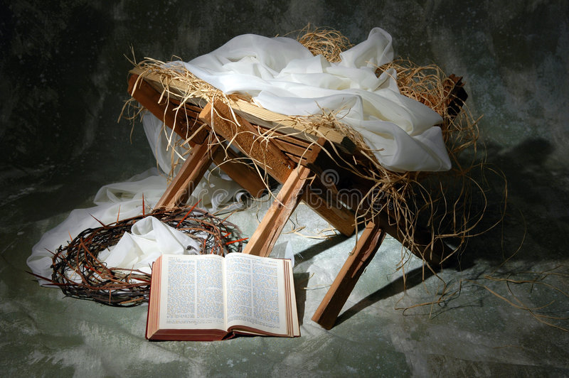 The story of Christmas. With open Bible to John 3:16