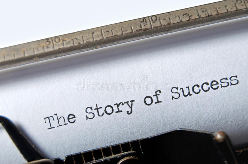 Story of Success royalty free stock photos