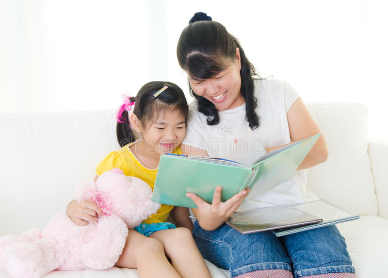 Story time royalty free stock photos