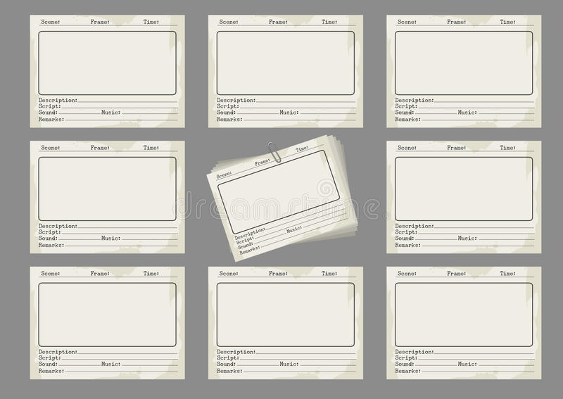 Storyboard Format Leoncapers