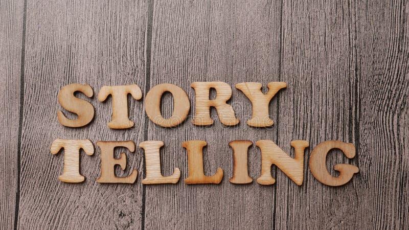 Storytelling, het Motievenconcept van Woordencitaten royalty-vrije stock afbeelding