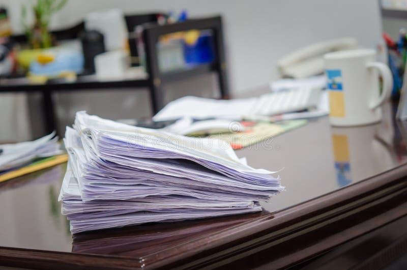 Stos dokumenty obrazy stock