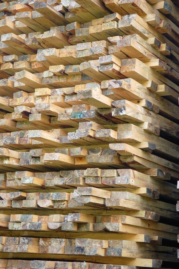 stos drewna obrazy stock