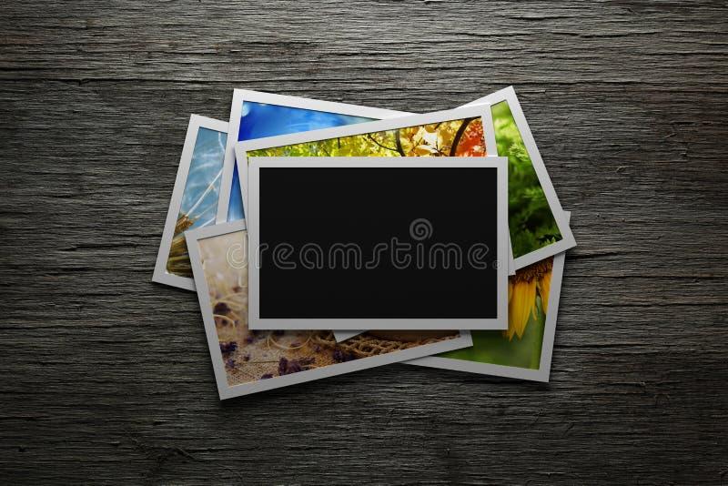 Stos kolorowe fotografie fotografia royalty free