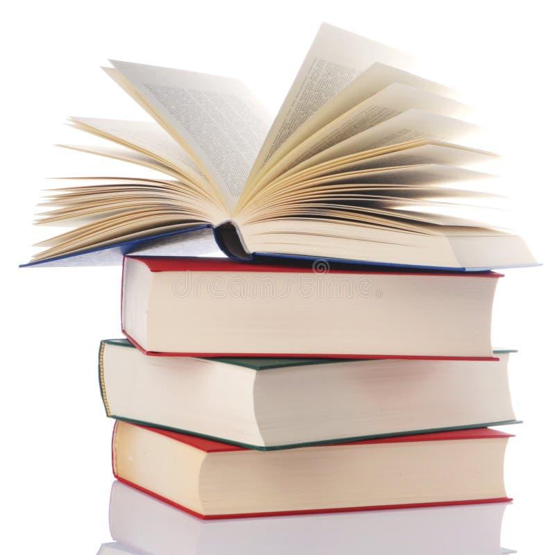 Stos książki obraz stock
