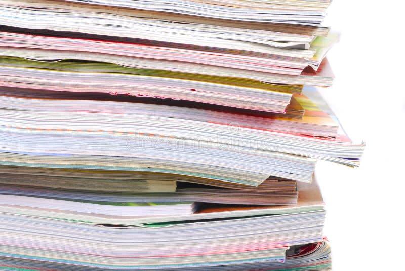 stos magazynów obrazy stock