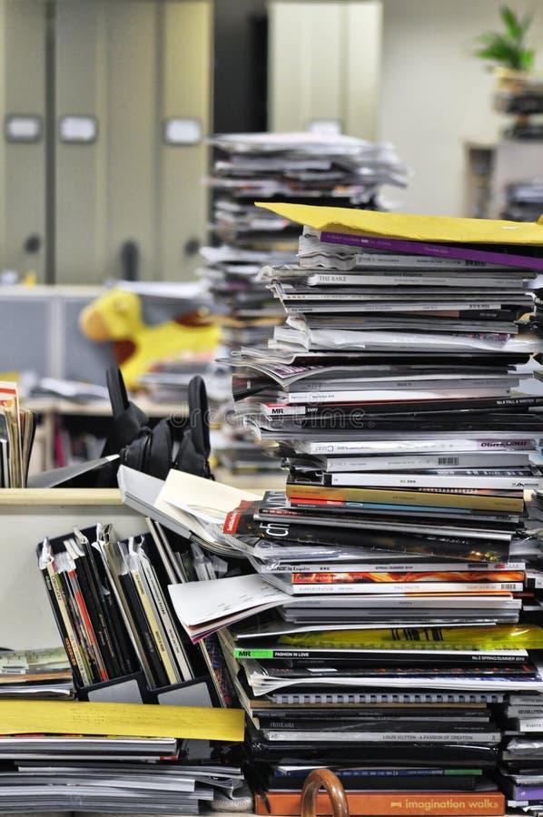 Stos magazyny fotografia stock
