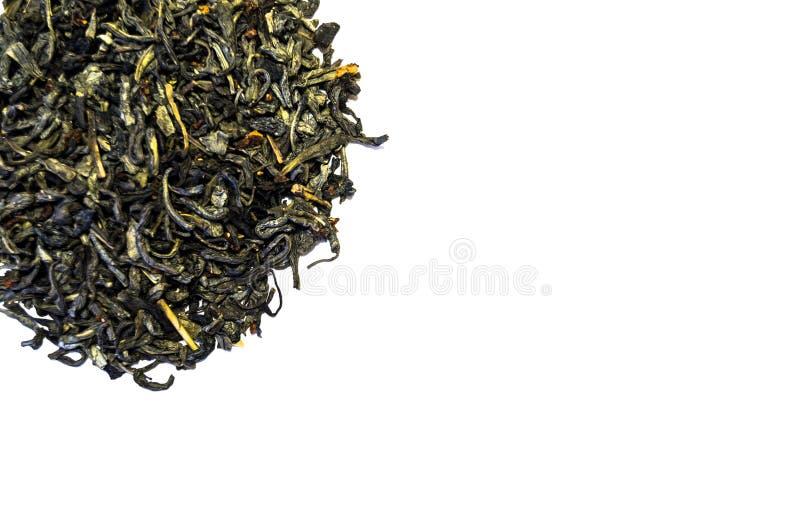 Stos odizolowywający na białym tle herbata zdjęcie royalty free