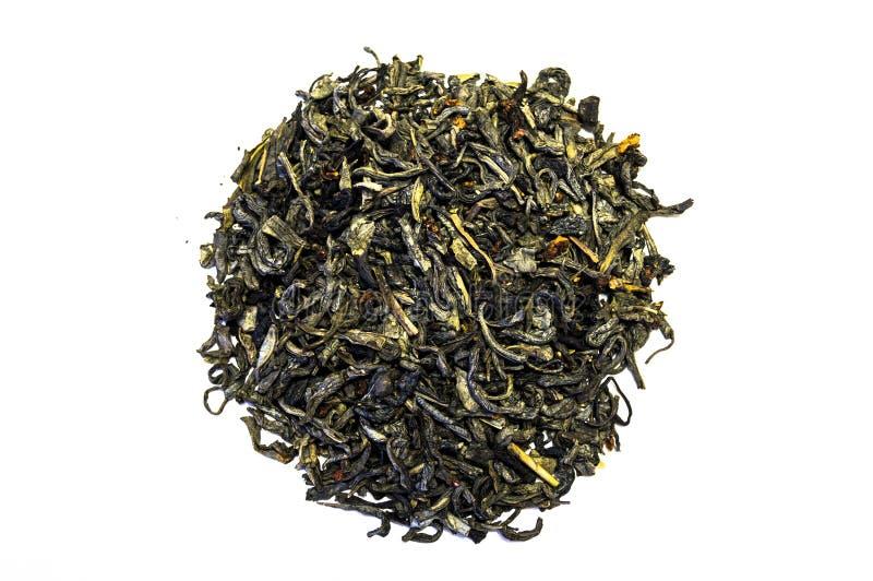 Stos odizolowywający na białym tle herbata obraz royalty free