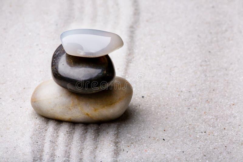 stosy rockowy zen. zdjęcia stock