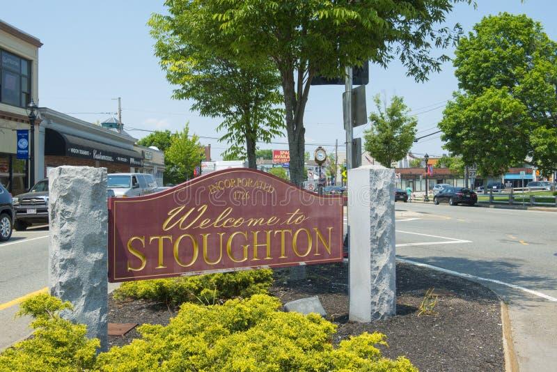 Stoughton, Массачусетс, США стоковые изображения rf