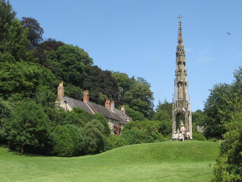 Stourhead Park stockbild