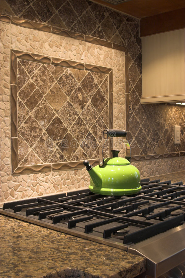 Free Stove And Tea Kettle Royalty Free Stock Image - 1671006