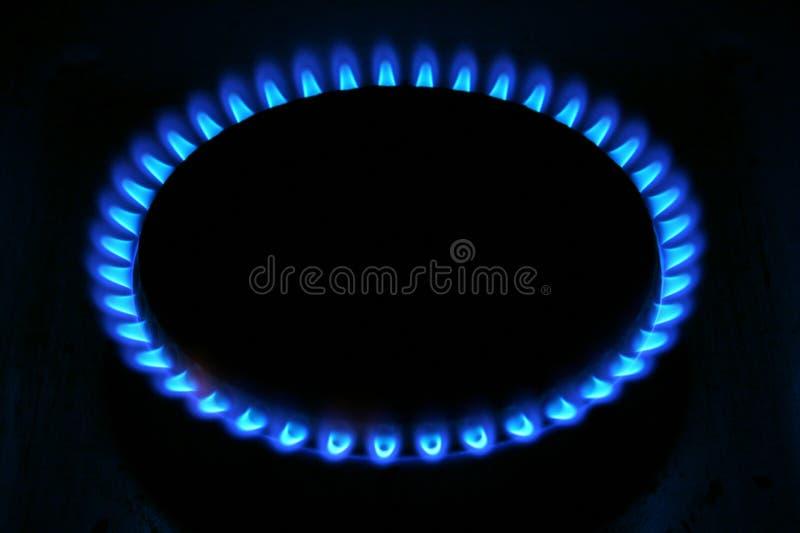 Stove flames stock photos