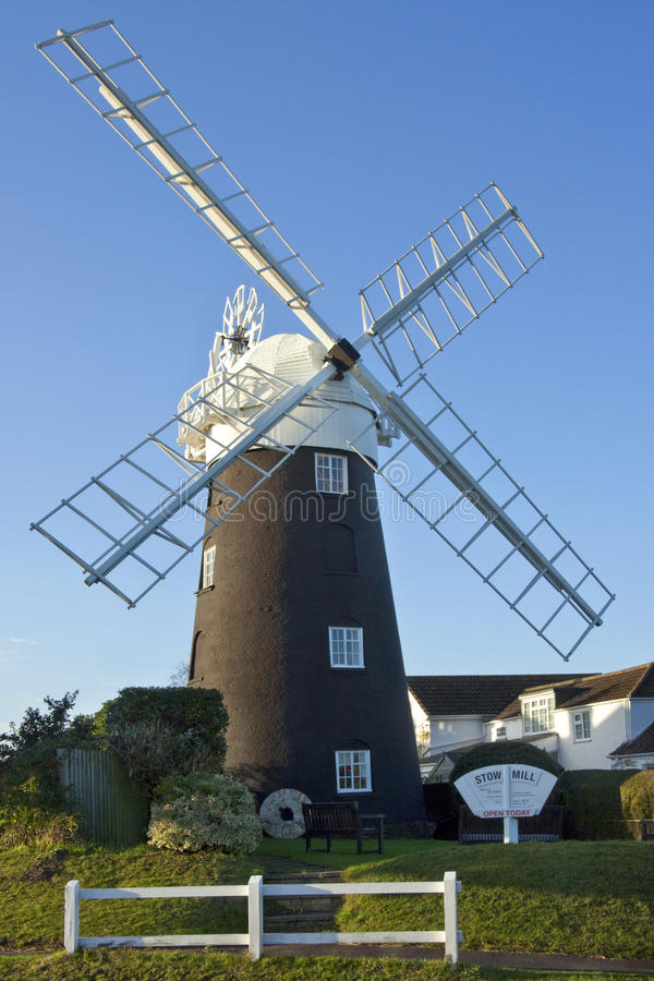 Download Stow Windmill - Maudsley - Norfolk - England Editorial Image - Image: 31127135