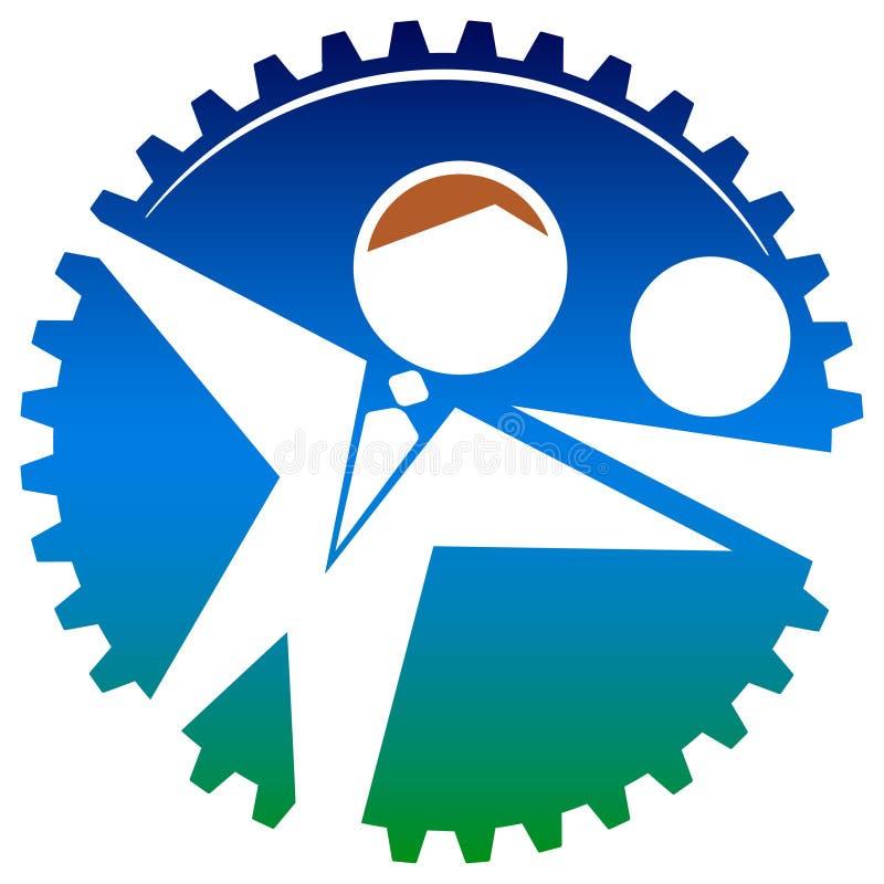 Stowarzyszony logo royalty ilustracja