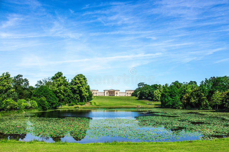 Stowe house and garden royalty free stock photos