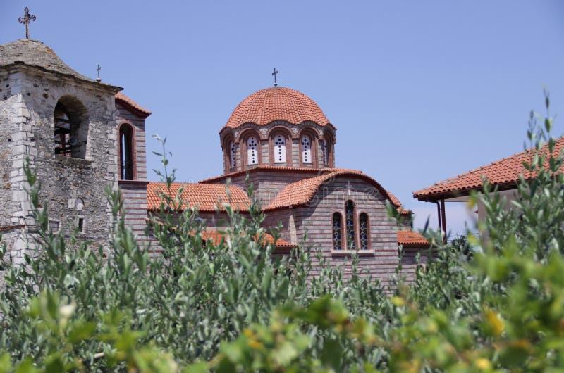 StParaskeva kyrka royaltyfria bilder