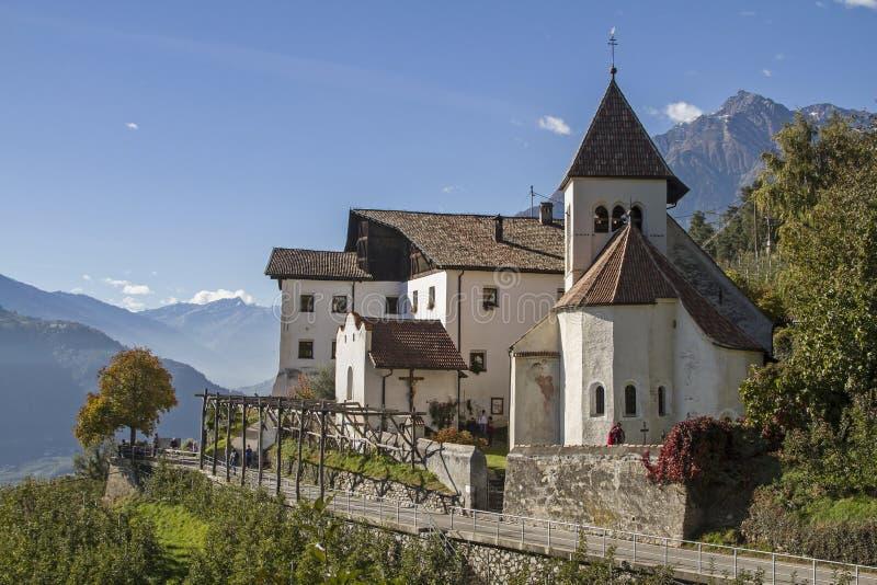 StPeter en Vinschgau fotos de archivo libres de regalías