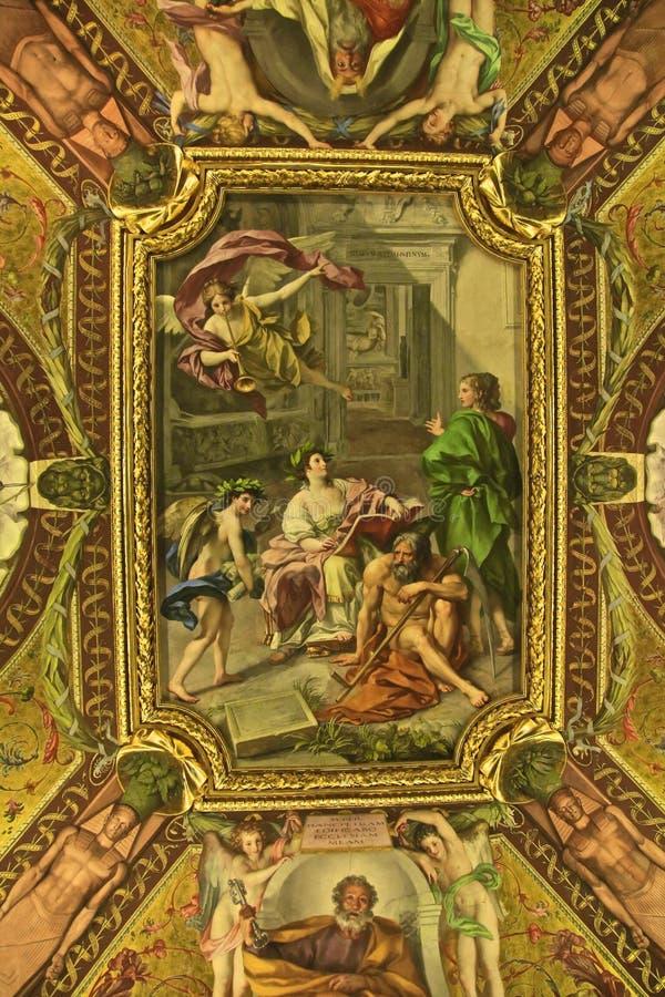 StPeters kościelny watykan Rzym Włochy fotografia royalty free
