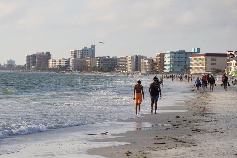 Stränderna på Johns passerande Florida royaltyfri bild