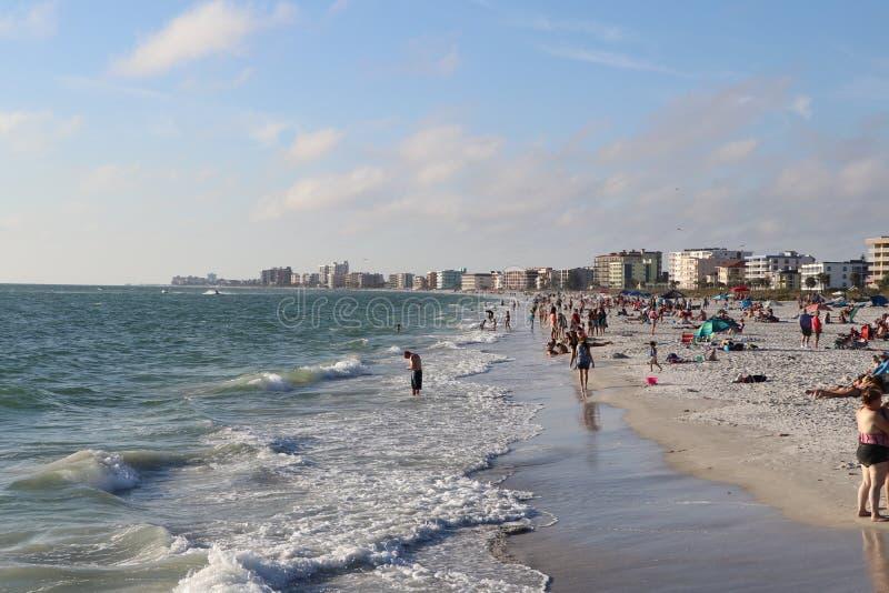 Stränderna på Johns passerande Florida royaltyfria bilder