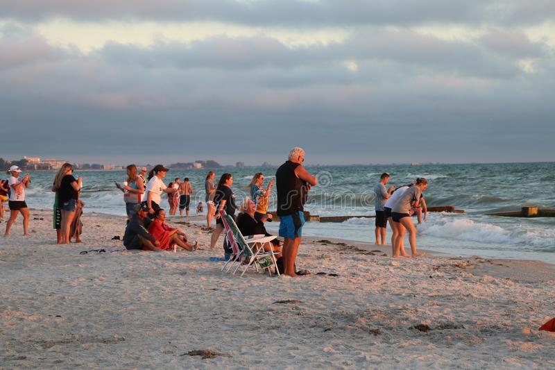 Stränderna på Johns passerande Florida arkivfoto