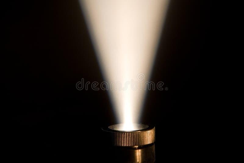 stråle för ljus projektor fotografering för bildbyråer