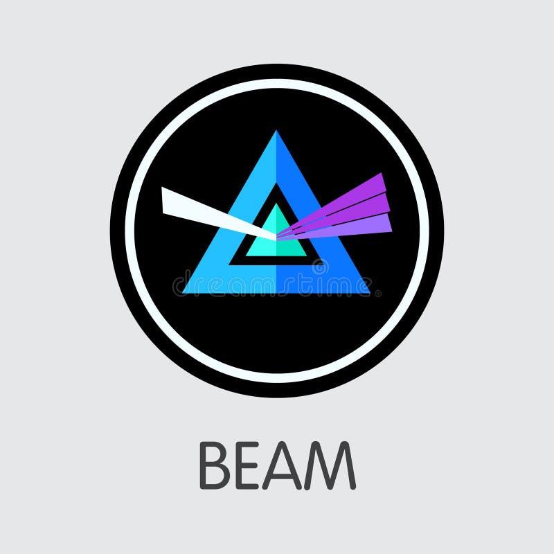 STRÅLE - Stråle Logoen av det faktiska Momey eller marknadsemblemet vektor illustrationer