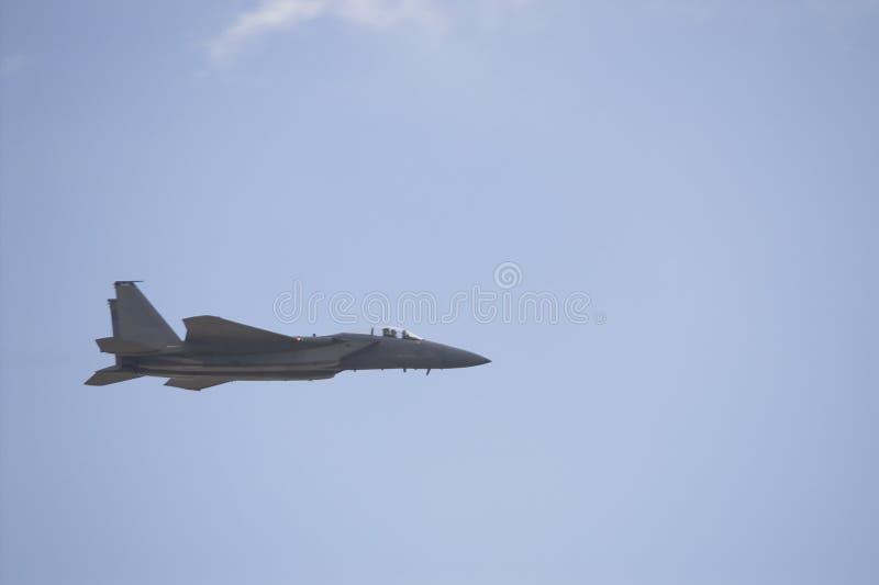 Strålflygplan för bålgeting F-18 royaltyfria foton