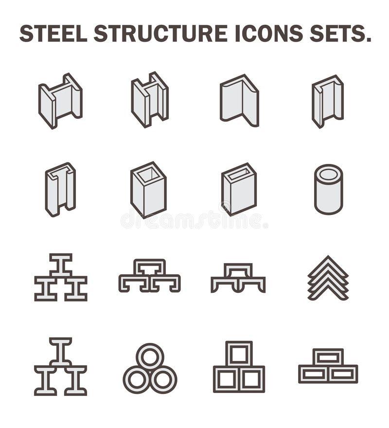 Strålrörsymboler vektor illustrationer