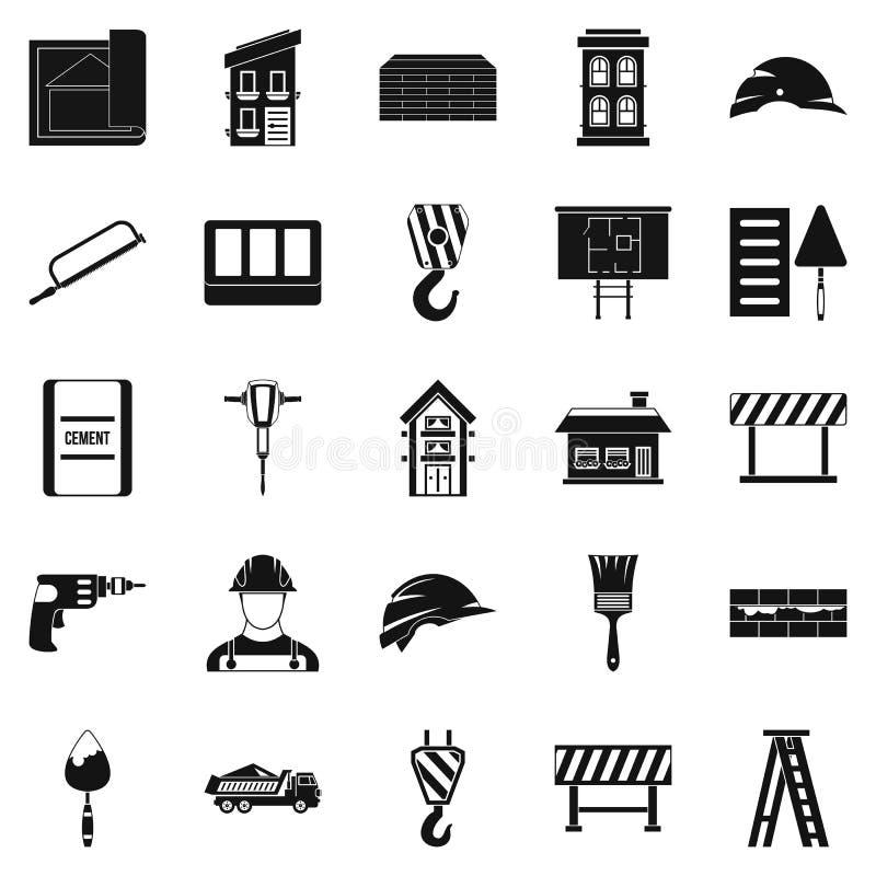 Strój ikony ustawiać, prosty styl ilustracji