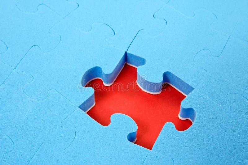 strój jednoczęściowy błękitny brakująca łamigłówka obrazy stock