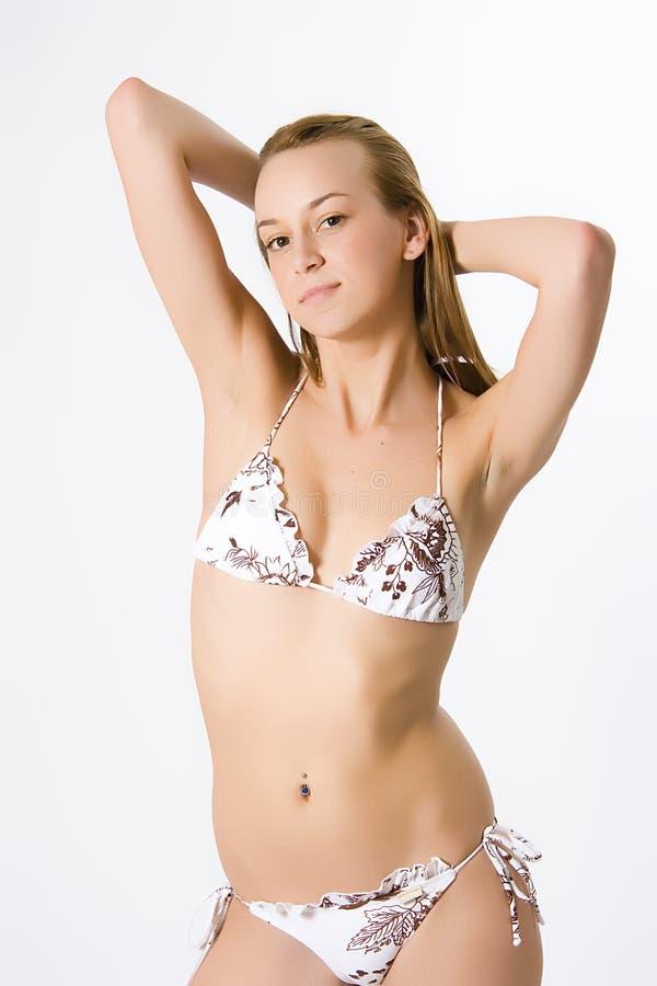 strój kąpielowy kobieta zdjęcia stock