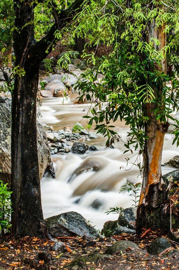 Ström av den Chamang fallen arkivbild