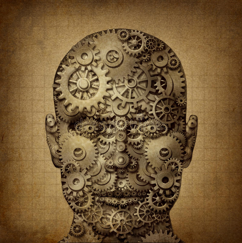 Ström av mänsklig kreativitet vektor illustrationer