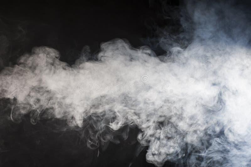 Ström av rök arkivbild