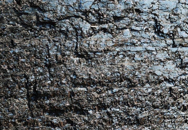 ström för mineraler för geologi för bakgrundskolbränsle royaltyfri foto