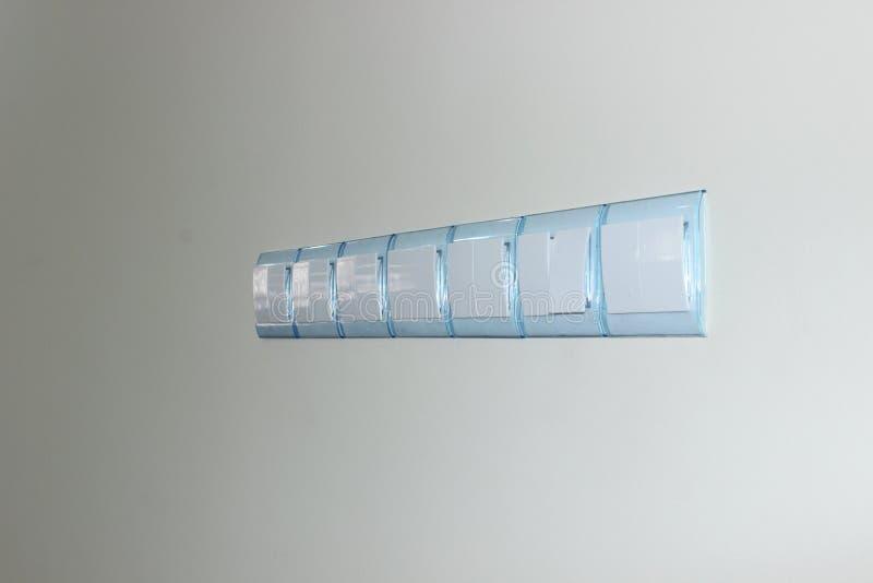 Strömbrytare av ljus arkivfoton