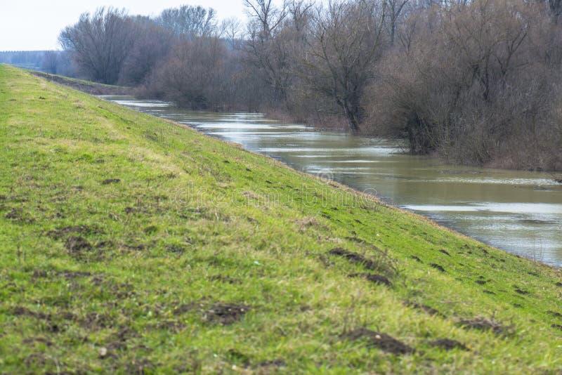 Strömender Fluss lizenzfreie stockbilder