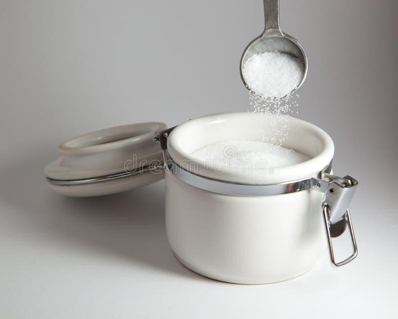Strömendes Salz lizenzfreie stockbilder