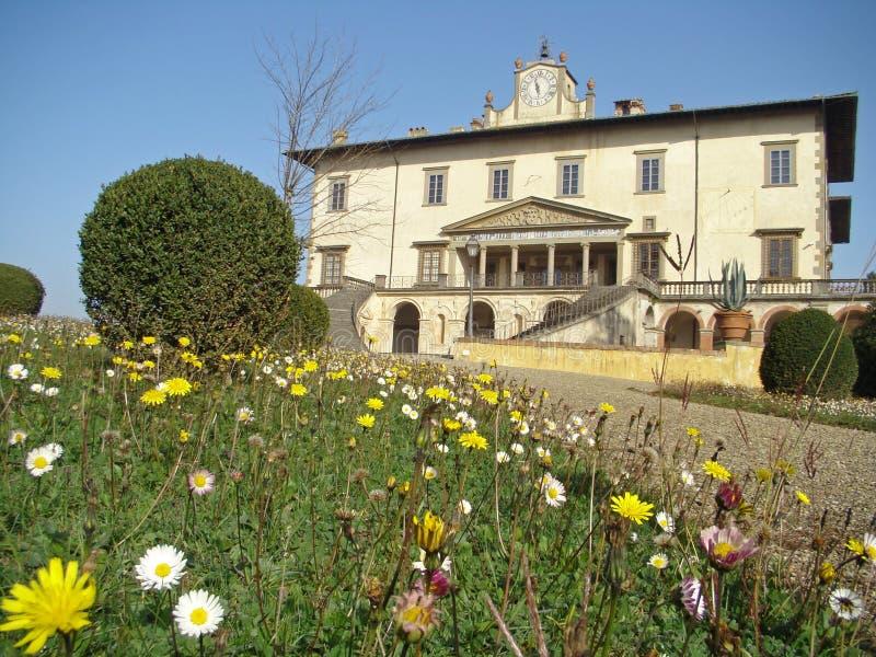 strömförande tuscany royaltyfri bild